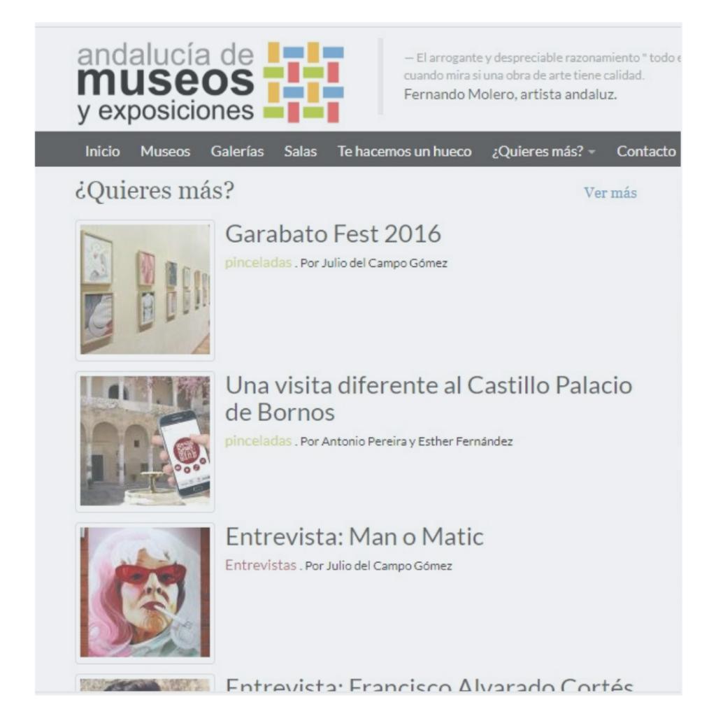 Andalucía de Museos y Exposiciones |  Asociación Cultural