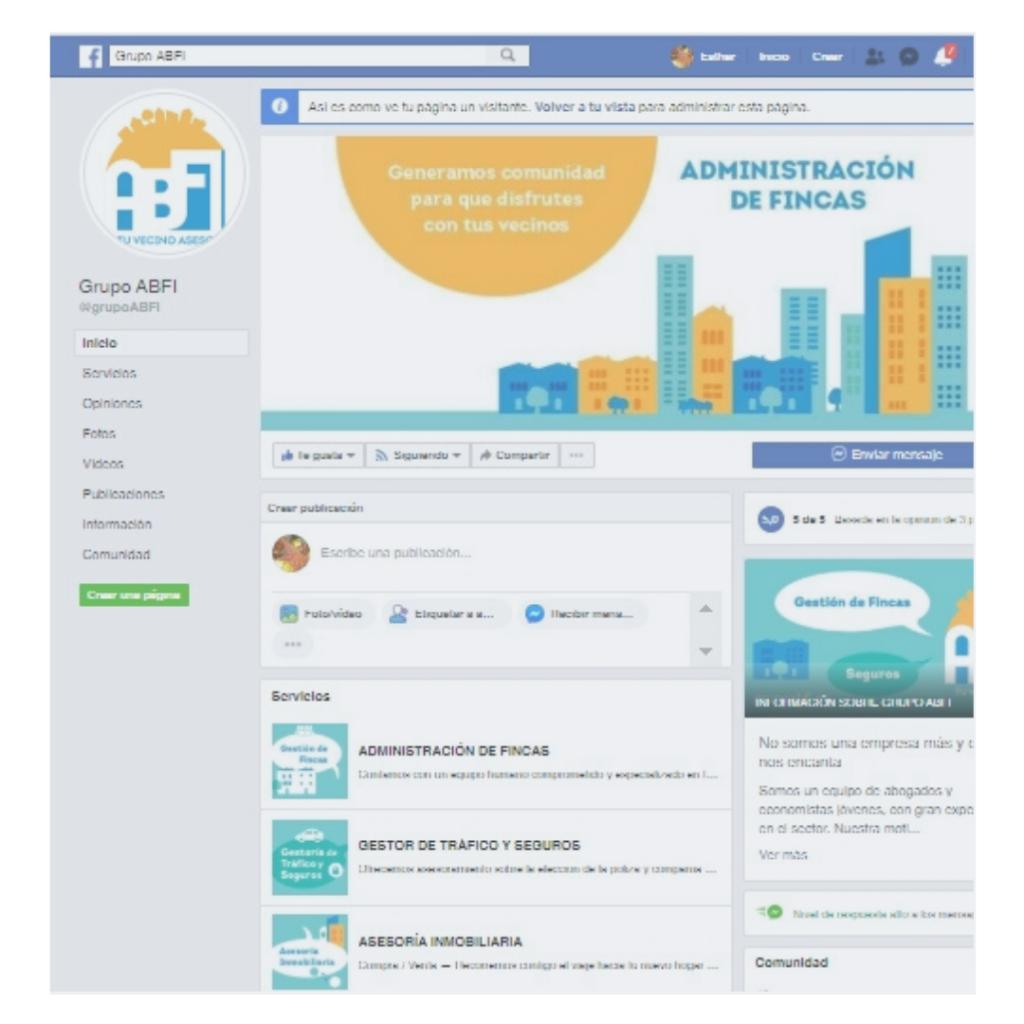 Grupo ABFI / Inmobiliaria y Gestión de Fincas